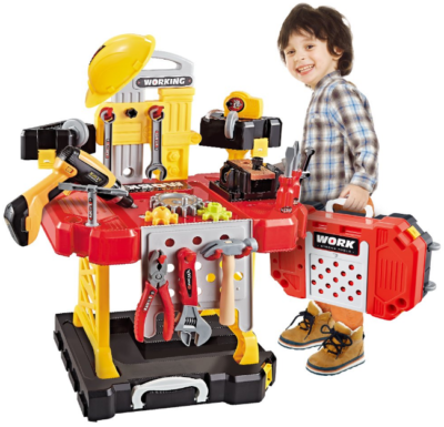 This is an image of kid's construction toy building kit
