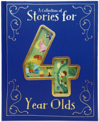 This is an image of kid's 4 collection of stories book