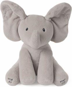 Beautiful grey baby gund elephant