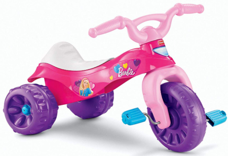 This is an image of kid's babie tough trike in colorful colors