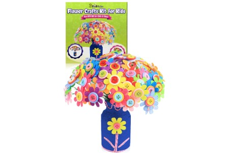 This is the image of Flower Craft Kit For Girls