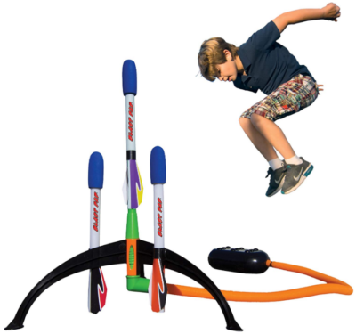 This is an image of kid's Blast rocket shoots with high feet