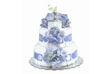 This is the image of Bloomers Diaper cake