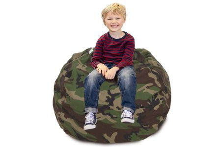 This is the image of CALA Cotton canvas chair for kids