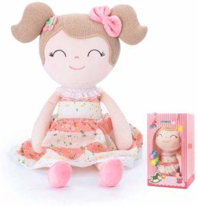 a beautiful pink conzy stuffed doll
