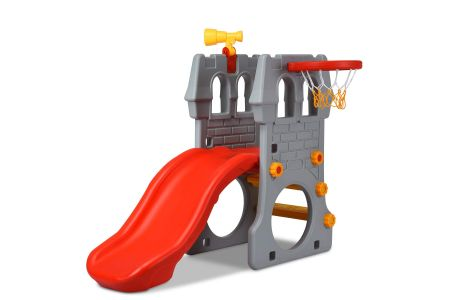 This is the image of Costzon 4-in-1 Toddler Slide