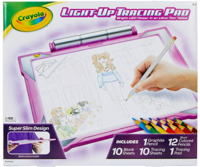 This is an image of girl's Tracing pad by Crayola