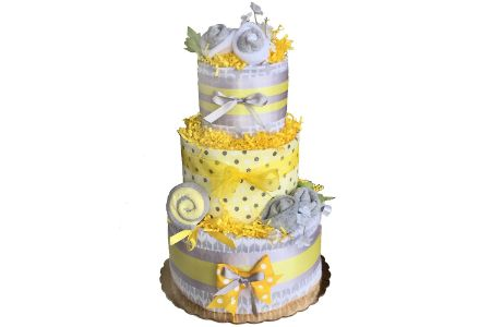 This is the image of Crib Critter Diaper Cake