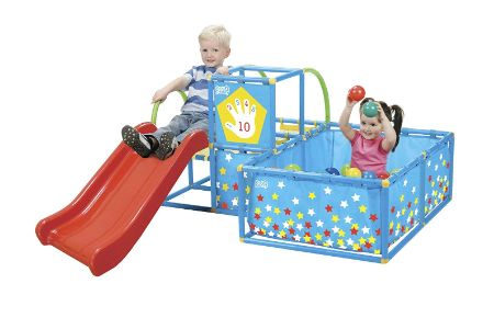 This is the image of Eezy Peezy Jungle Gym Playset
