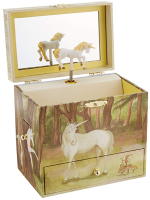 This is an image of girl's Unicron music jewelry box
