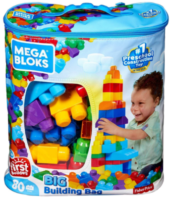 This is an image of toddler's building blocks, colorful colors