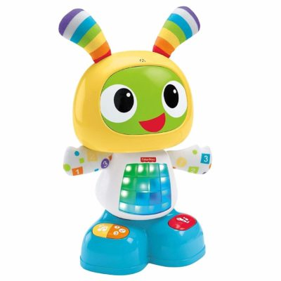 This is an image of a colorful dance and move Beatbo toy by Fisher Price.
