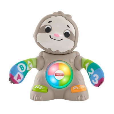 This is an image of a moving sloth toy by Fisher Price.