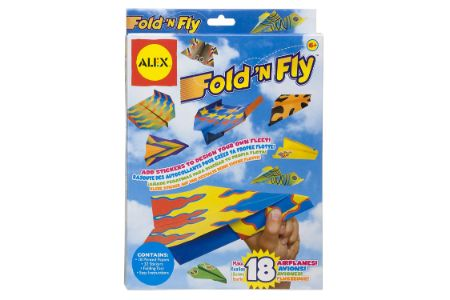 This is the image of Fold N Fly Airplane Kit
