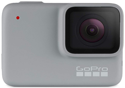 This is an image of Teen's gopro hero7 in grey color
