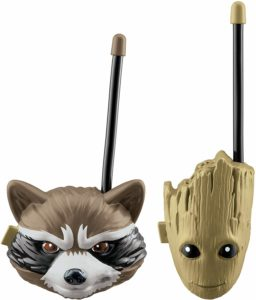 groot and rocket walkie talkies