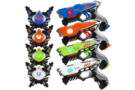 This is the image of HISTOYE Laser Tag guns