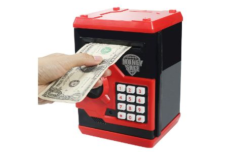 This is the image of 11. HUSAN Electronic Piggy Banks for Kids