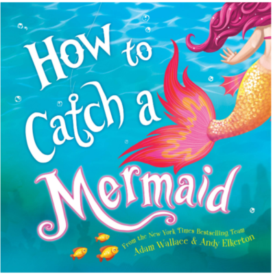 This is an image of kid's catch a mermaid book