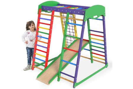 This is the image of Indoor Jungle Gym Playground