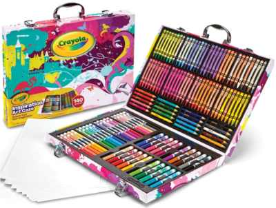 This is an image of kid's Art coloring set