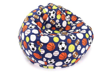 This is the image of Jordan Jr. Sports Print toddlers chair