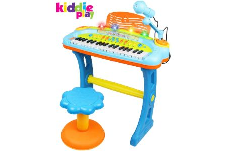 This is the image of Kiddie Play Electronic Toy Piano
