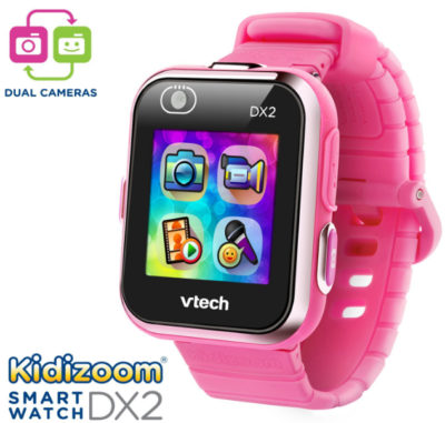 This is an image of girl's smartwatch kidizoom in pink color