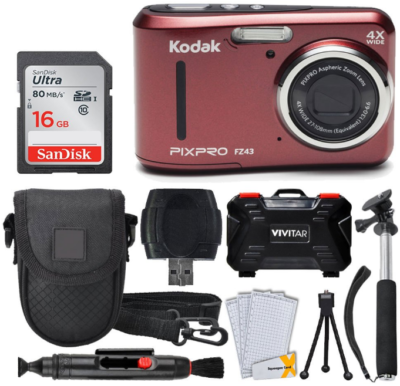 This is an image of Teen's kodak Pixpro digital camera pack