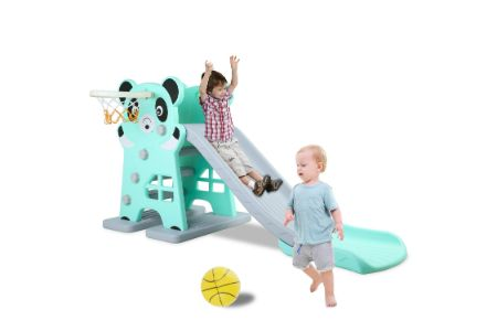 This is the image of LAZY BUDDY Toddler Slides