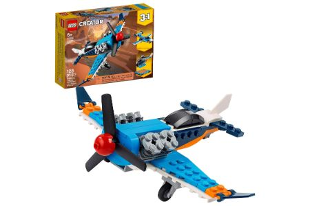 This is the image of LEGO 3 in 1 Propeller Planes