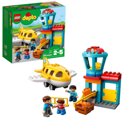 This is an image of kid's LEGO duplo building kit