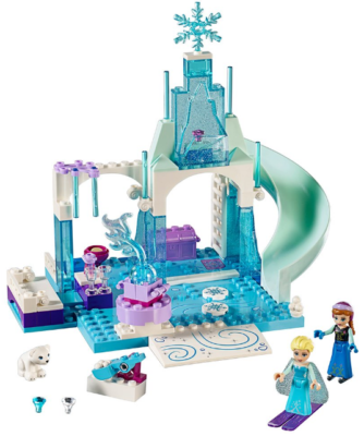 This is an image of girl's LEGO frozen by Desney