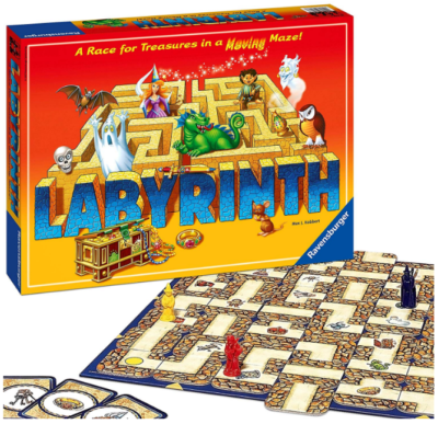 This is an image of girl's Labyrinth board game