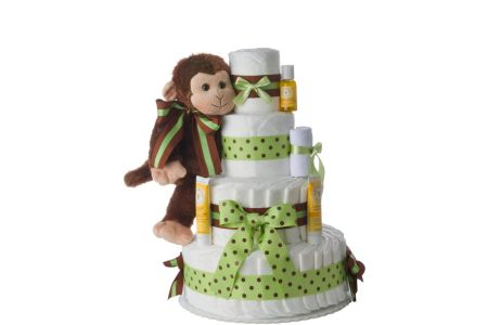 This is the image of Lil Baby Diaper Cake