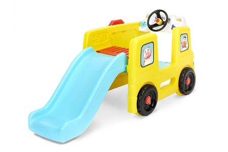 This is the image of Little Tikes Slides with musical dashboard