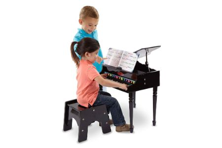 This is the image of Melissa & Doug Classic Grand Piano