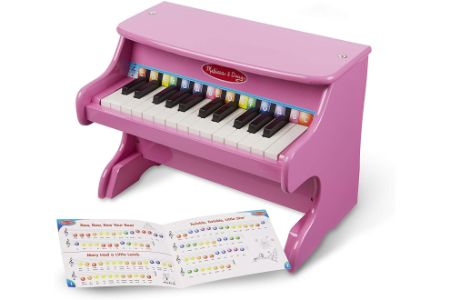 This is the image of Melissa & Doug Pink Girl's Piano