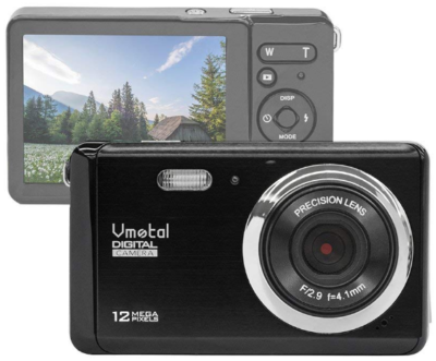 This is an image of Teen's digital camera in black color