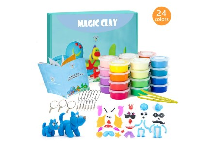 This is the image of Magic Clay