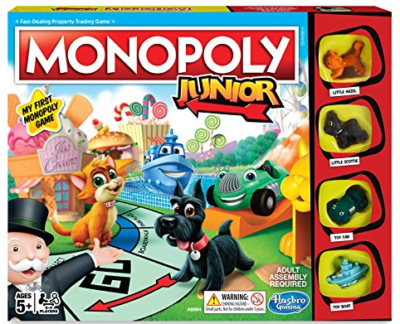 This is an image of girl's Monopoly board game