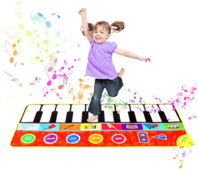 This is an image of kid's musical keyboard play mat