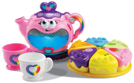 This is an image of kid's musical rainbow tea party toy