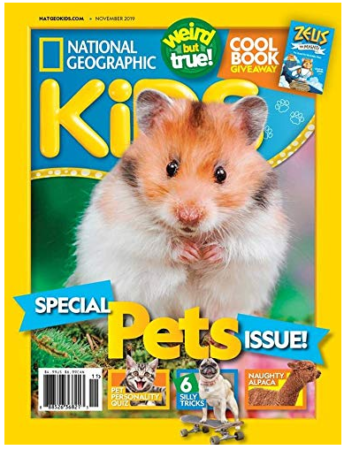 This is an image of kid's National geographic kids