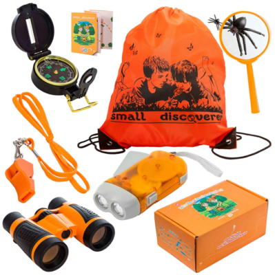 This is an image of kid's Outdoor exploration set