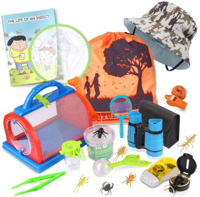 This is an image of kid's explorer kit