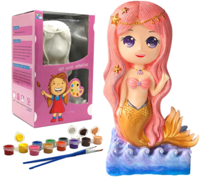 This is an image of girl's mermaid figurines