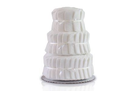 This is the image of plain diaper cake for boys