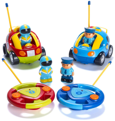 This is an image of kid's car toys with remote control