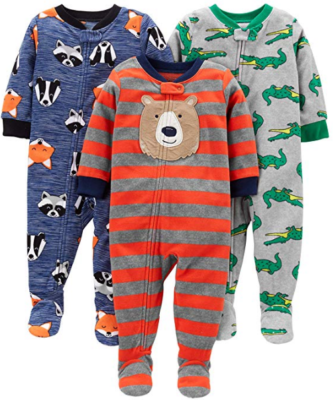 This is an image of toddler's baby outfit pack in colorful colors